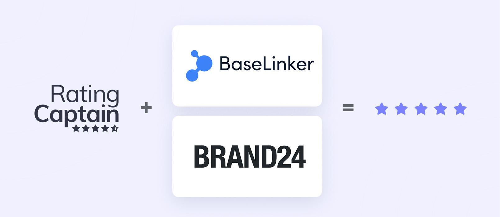 Partners of this promotion are: Brand24 and BaseLinker